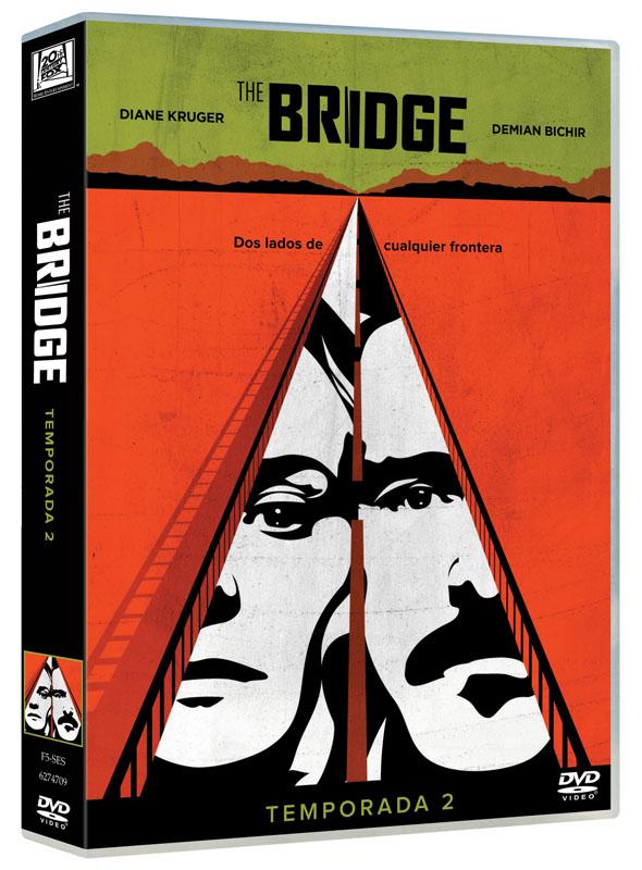 Carátula DVD de la segunda temporada de 'Bridge'.