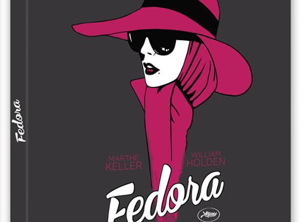 Carátula del Bluray de 'Fedora'