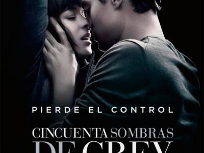 Póster en español de Cincuenta sombras de Grey