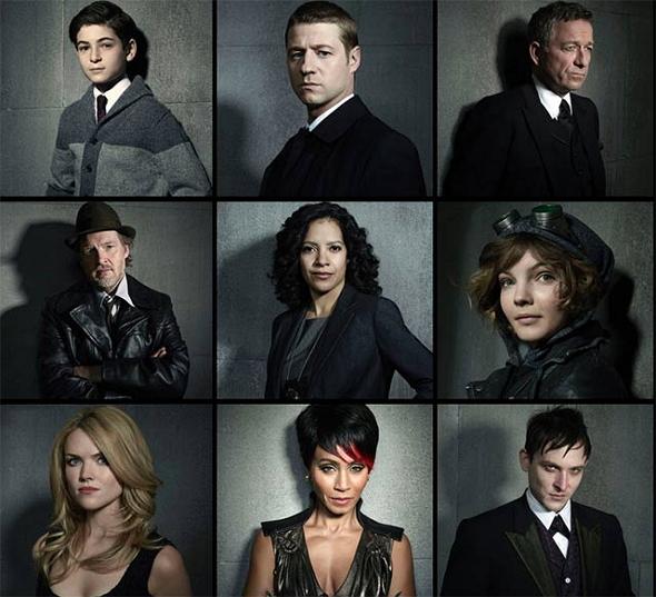 Los personajes principales de Gotham