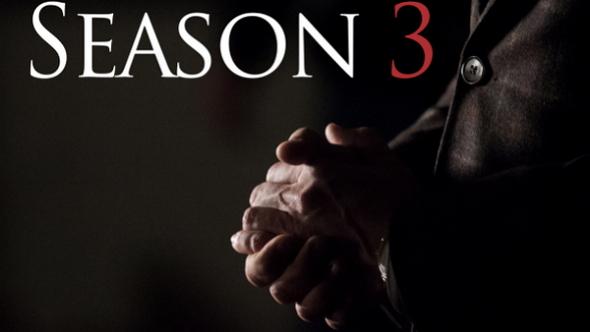 Imagen promocional de la tercera temporada de 'Hannibal'