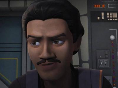 Una imagen de Lando Calrissian en Star Wars Rebels