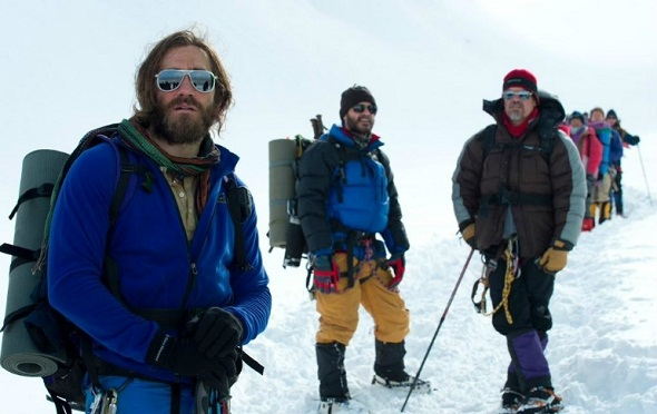 Jake Gyllenhaal protagoniza la nueva imagen de 'Everest'