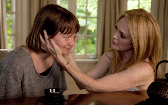 Julianne Moore y Mia Wasikowska en 'Maps to the stars'