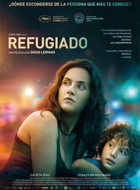 'Refugiado': cartel oficial.