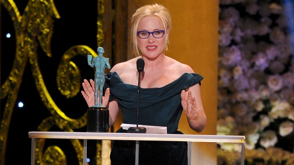 Patricia Arquette ganó por 'Boyhood'