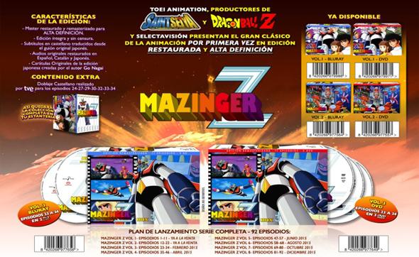 'Mazinger Z' Pack