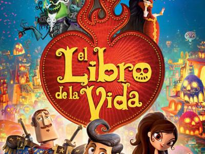 Imagen del Póster en español de 'El libro de la vida'