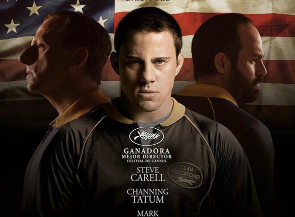 Imagen del Póster en español de la película 'Foxcatcher'