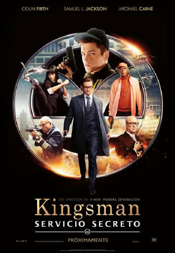Imagen del Póster en español de Kingsman: Servicio Secreto