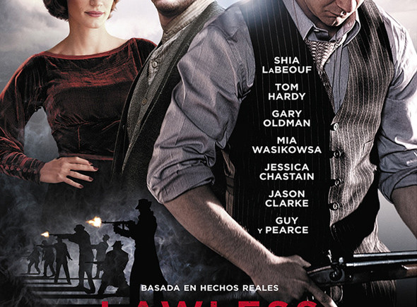 'Lawless' Sin ley. Póster.