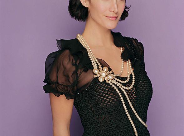 Una imagen de la actriz Carrie-Anne Moss