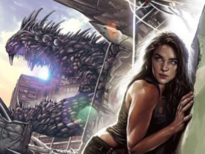 Una imagen de la portada del cómic 'Enormous'