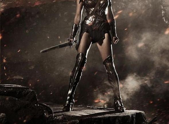 Una imagen de la actriz Gal Gadot como Wonder Woman