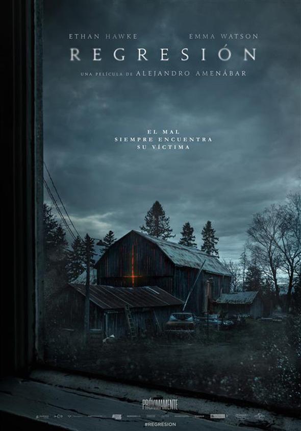 Imagen del póster de la película 'Regresión (Regression)'