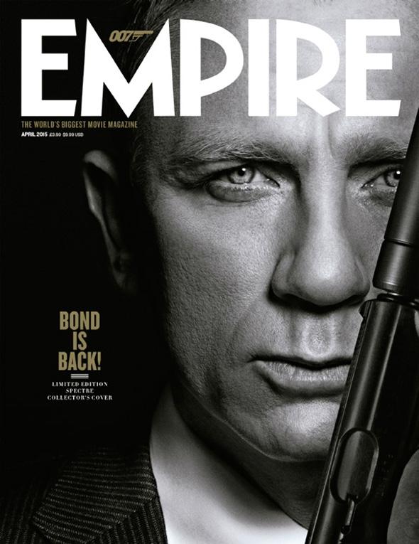 Imagen de James Bond en la Portada de Empire