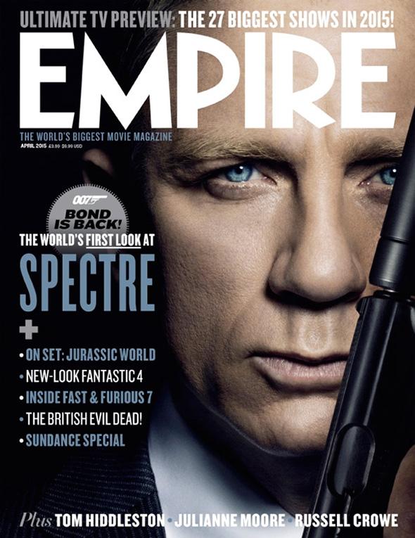 Segunda imagen de James Bond en la Portada de Empire