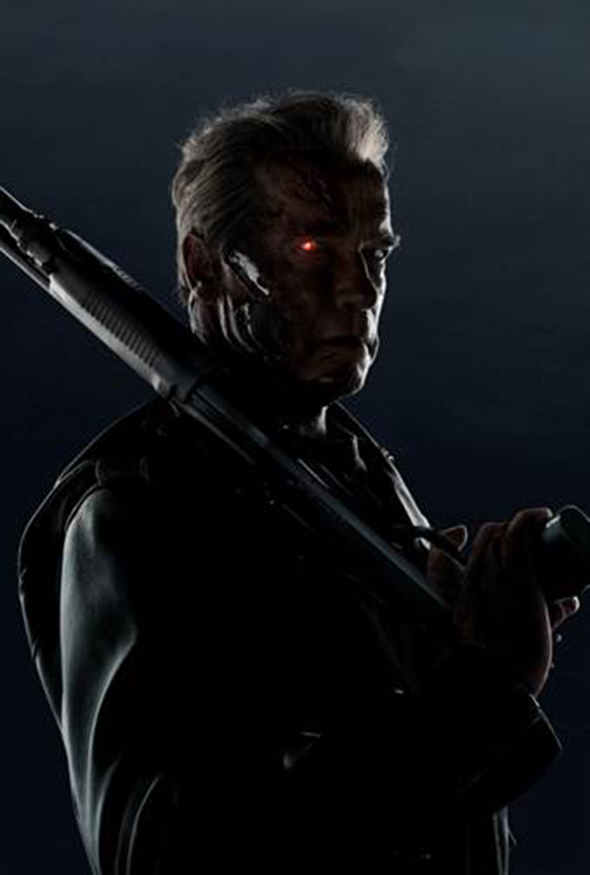 Arnold Schwarzenegger is back!