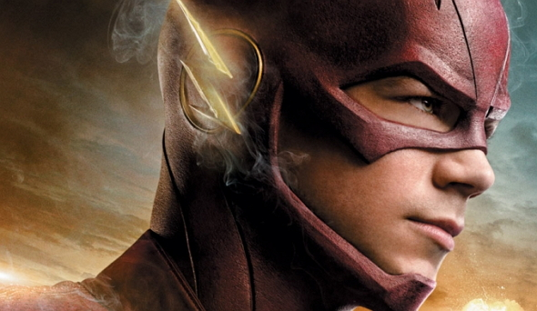 Grant Gustin como 'The Flash'