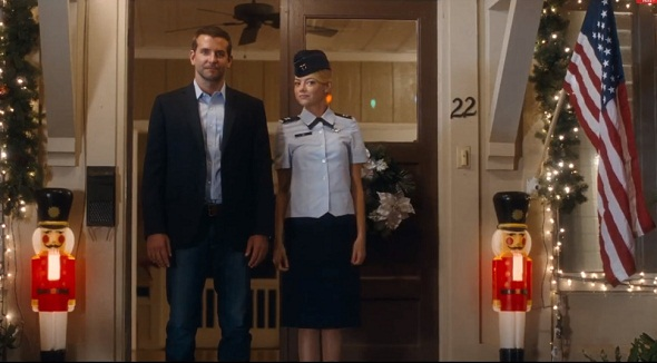 Bradley Cooper y Emma Stone en 'Aloha'