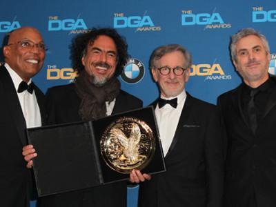 Alejandro González Iñárritu recibe el premio del Sindicato de Directores