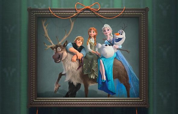 Foto de familia de los protagonistas de 'Frozen'