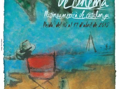 Cartel de la 21 edición de la Mostra de Cine Latinoamericana