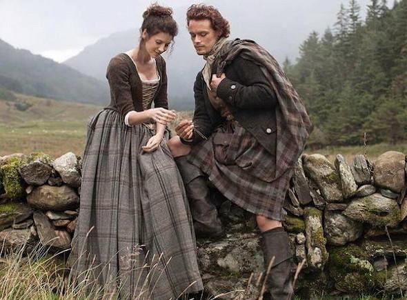 Una imagen de la serie 'Outlander'