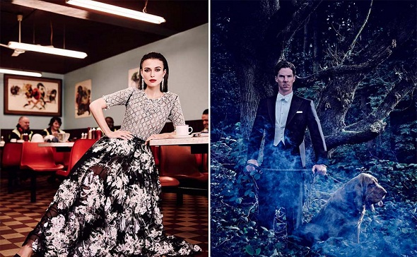 Keira Knightley y Benedict Cumberbatch, entre otros, protagonizan los cortos de Vanity Fair
