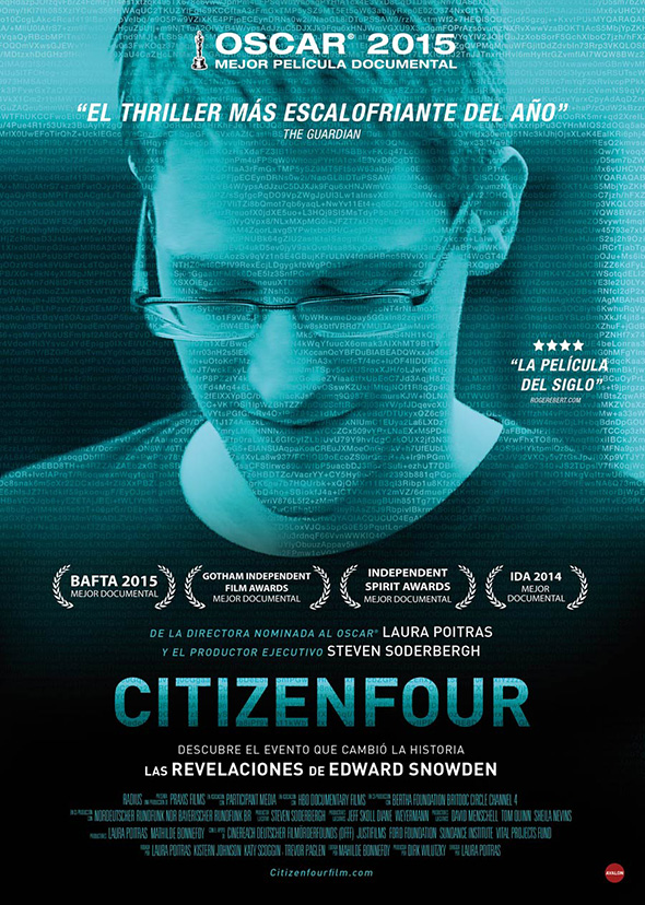 Póster en español de Citizenfour