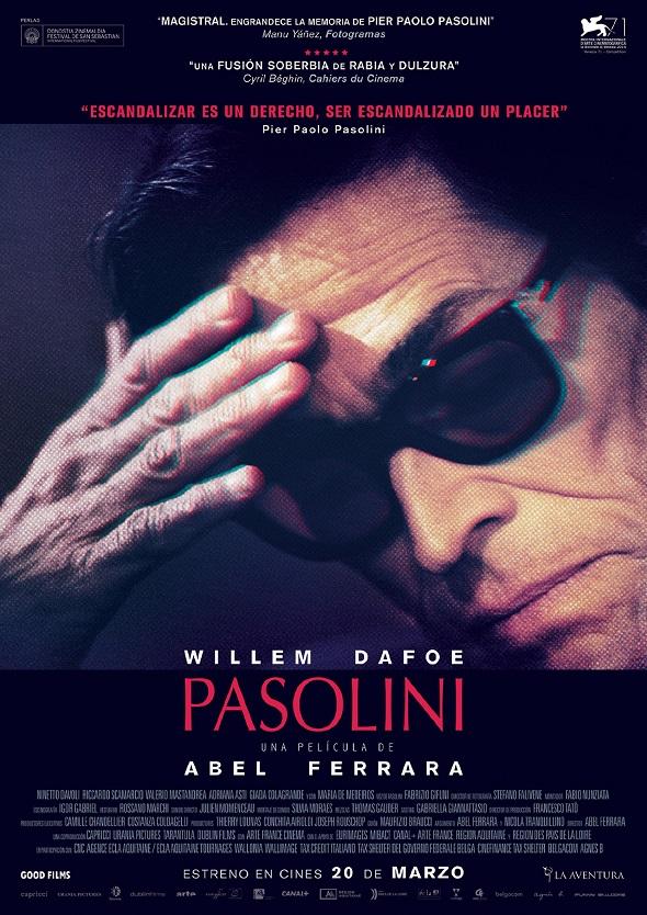 Póster de Pasolini de Abel Ferrara