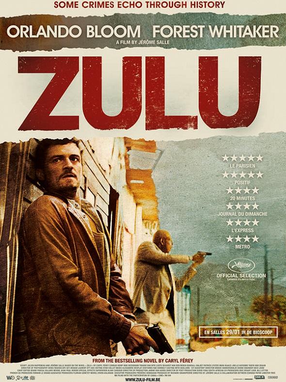 Zulu. Póster  de la película