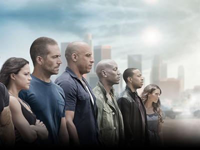 Una imagen del reparto de Fast & Furious 7