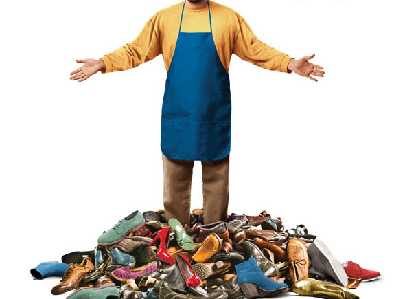 Cartel 'Con la magia en los zapatos'