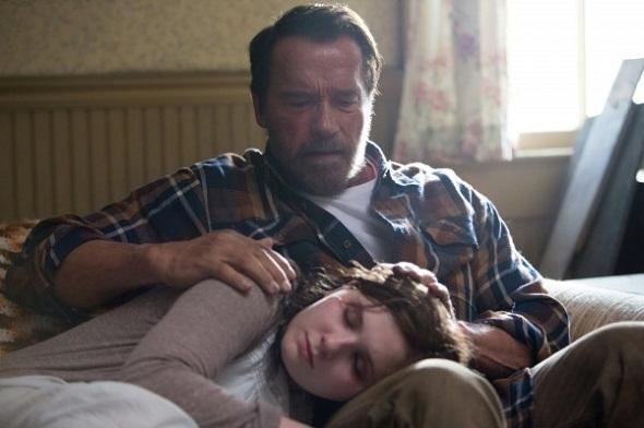 Schwarzenegger y Abigail Breslin en 'Maggie'