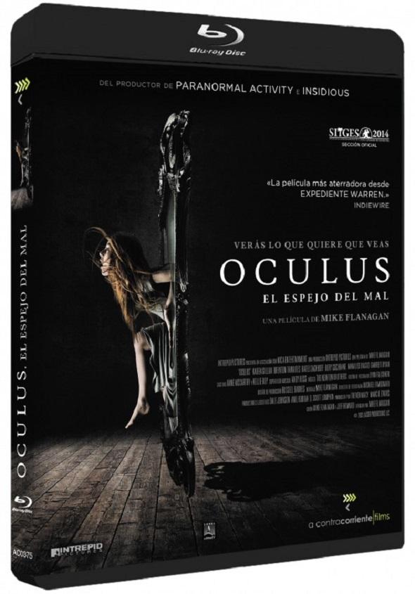 Oculus:  el espejo del mal. Edición Bluray
