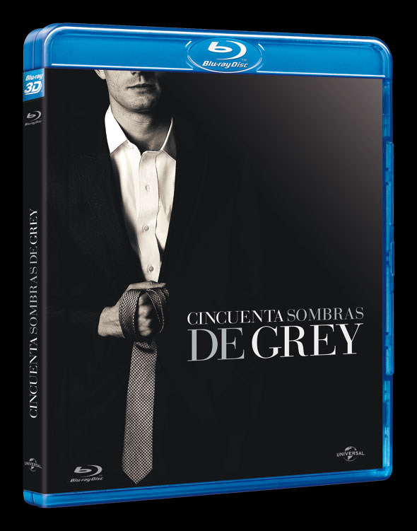 Bluray 'Cincuenta sombras de Grey'