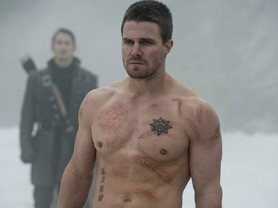Stephen Amell, en una escena de 'Arrow'