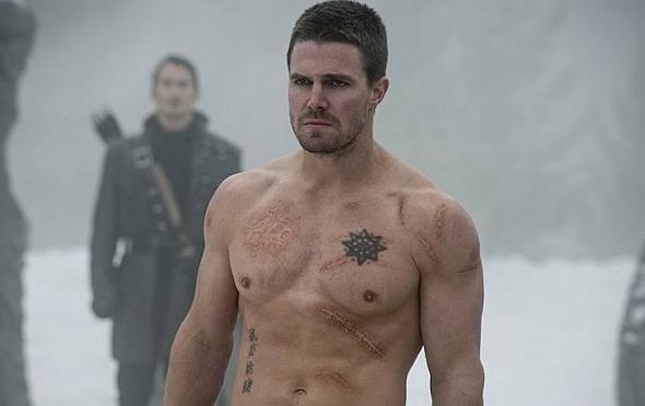 Stephen Amell, en una escena de 'Arrow'