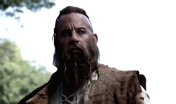 Vin Diesel luce este aspecto en el film