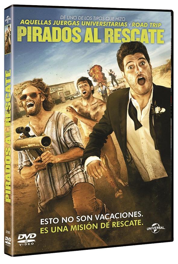 Edición DVD de Pirados al rescate