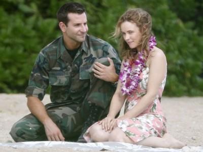 Bradley Cooper y Rachel McAdams en 'Aloha'