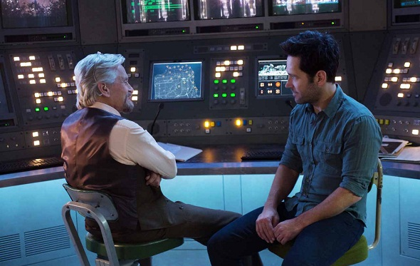 Paul Rudd y Michael Douglas, a la cabeza del reparto