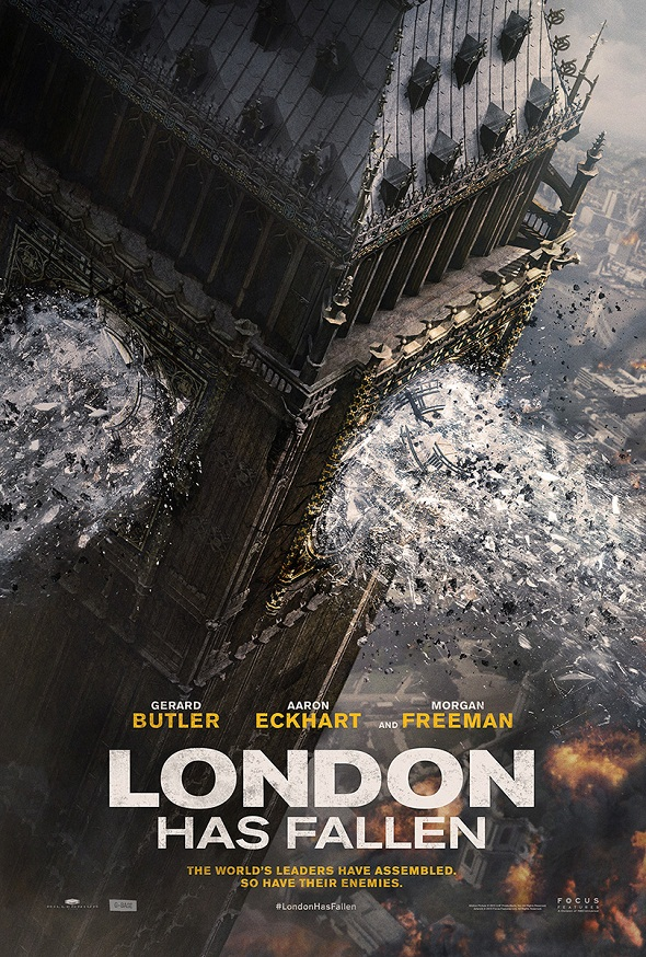 Póster de 'London has fallen'