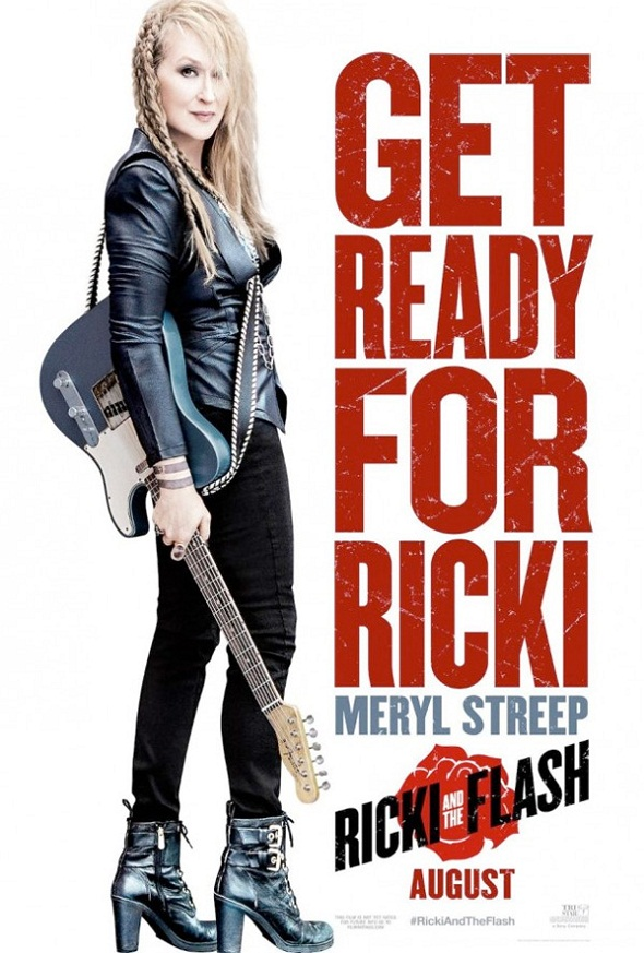 Póster de 'Ricki and the flash'