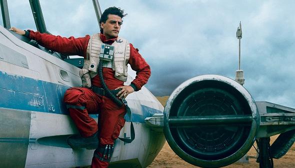 Oscar Isaac es el piloto Poe Dameron