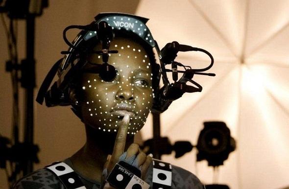 Lupita Nyong'o y la captura de movimiento para el Episodio VII