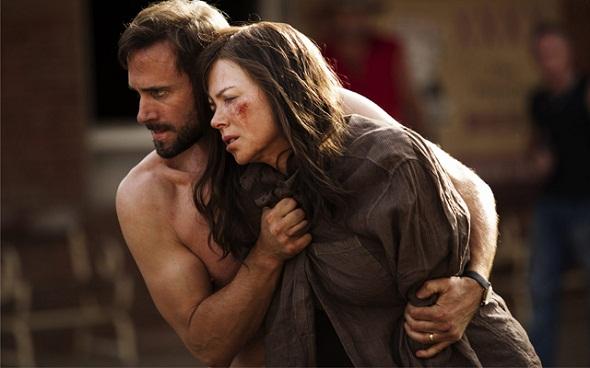 Joseph Fiennes y Nicole Kidman en 'Strangerland'