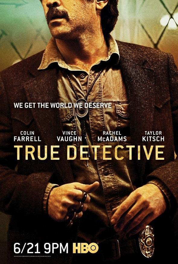 Póster para Colin Farrell de la segunda temporada de 'True detective'