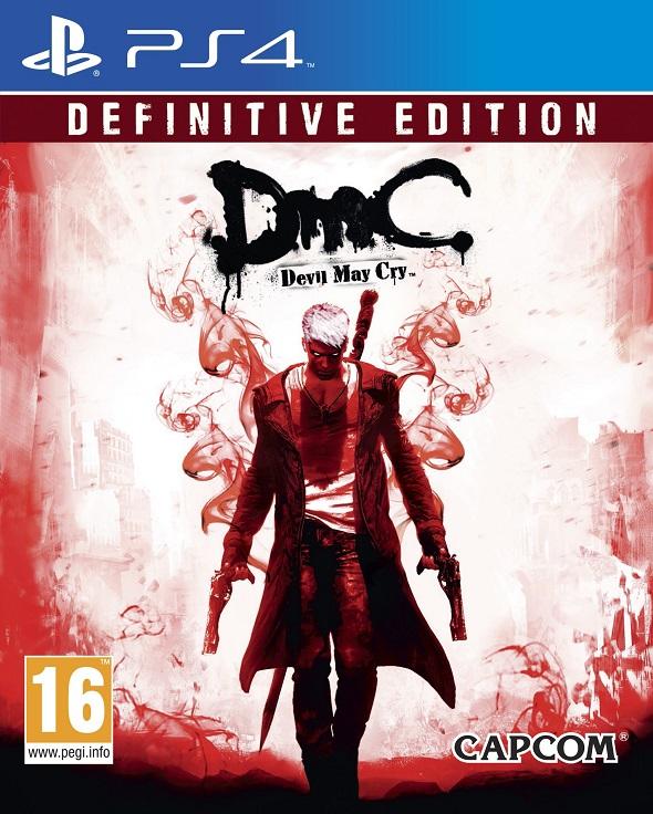 Carátula de PS4 para DmC Devil May Cry Definitive Edition